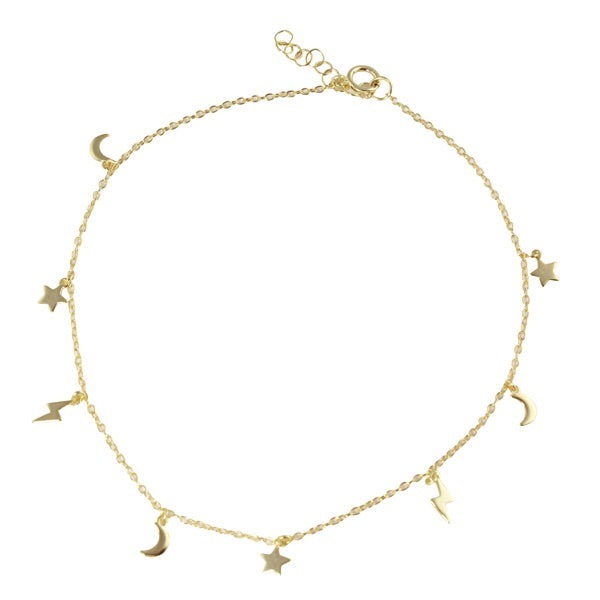 MINI CHARMS ANKLET