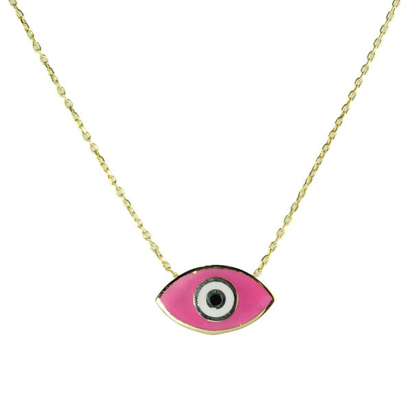 PINK ENAMEL EYE