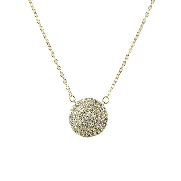 PAVE DOME NECKLACE