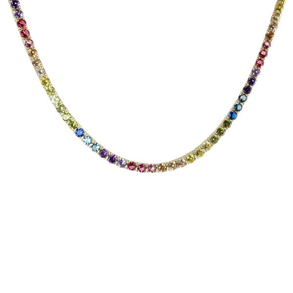 RAINBOW TENNIS NECKLACE