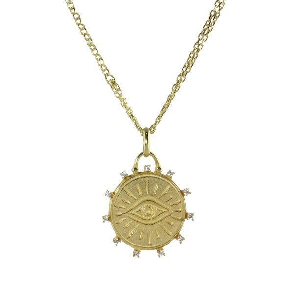 EYE MEDALLION - adammarcjewels