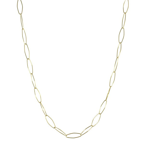 THIN LARGE LINK NECKLACE