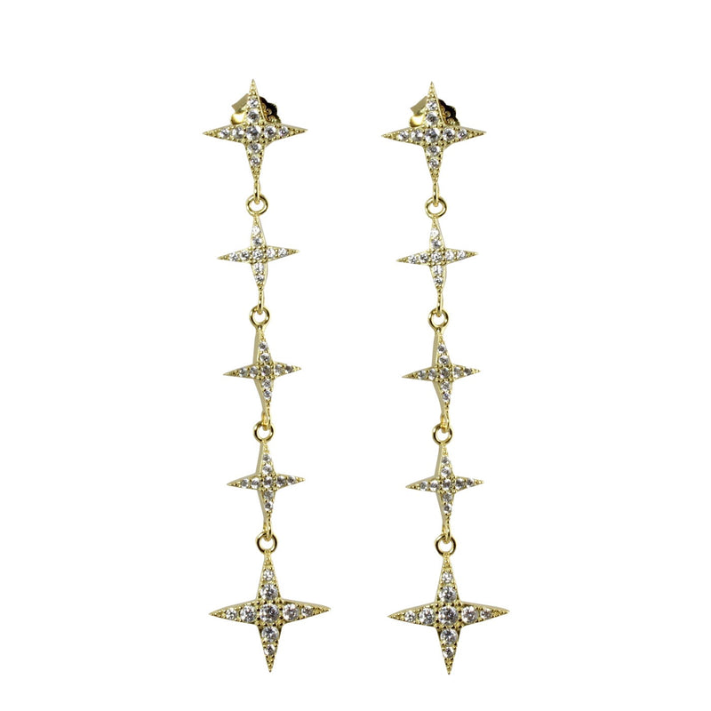 DROPPED STARS EARRINGS