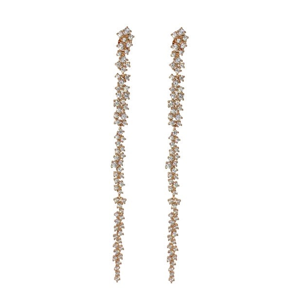 SCATTERED STONE CZ SHOULDER DUSTER