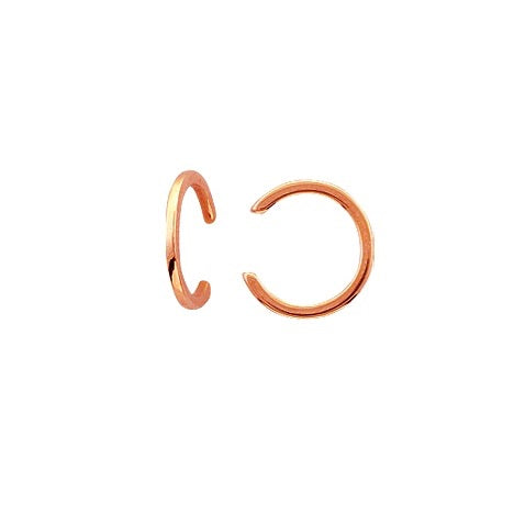 POLISHED GOLD EAR CUFF 14k
