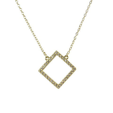 CUT OUT SQUARE - adammarcjewels