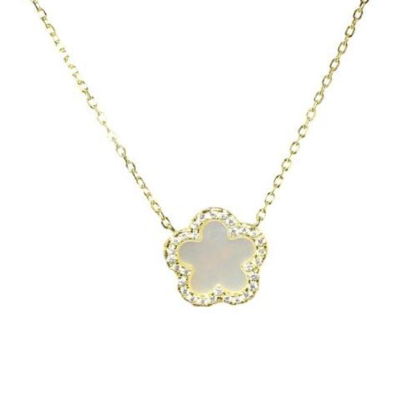 5 LEAF CLOVER NECKLACE - adammarcjewels