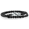 STONE & STAINLESS MEN'S WRAP BRACELET