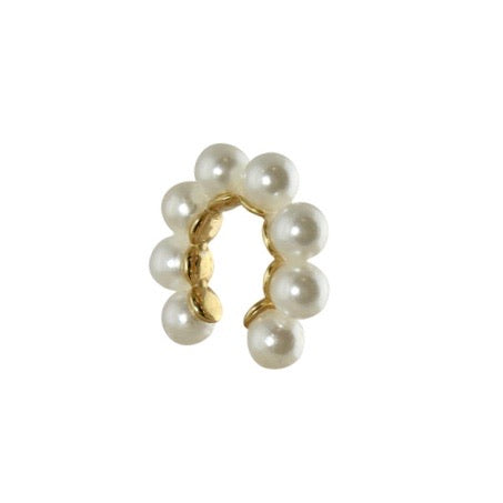 MINI ALL PEARL EAR CUFF