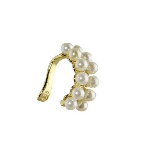 PEARL DOUBLE  ROW EAR CUFF