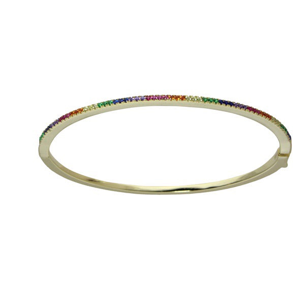 THIN RAINBOW BANGLE