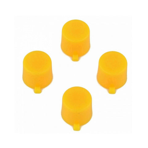 ModFreakz® 4 Button Set Solid Yellow Fits All PS4/PS3 Controllers - Mod Freakz