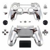 ModFreakz® Shell/Button Kit Chrome Collection - Silver For PS4 Gen 4,5 V2 Controller