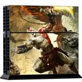ModFreakz® Console/Controller Vinyl Skin Set - Combat God Kratos for PS4 Original - Mod Freakz