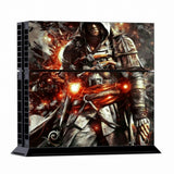 ModFreakz® Console/Controller Vinyl Skin Set - Action Hooded Assasin for PS4 Original - Mod Freakz