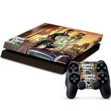 ModFreakz® Console/Controller Vinyl Skin Set - Car Grand Theft Robbery for PS4 Original - Mod Freakz
