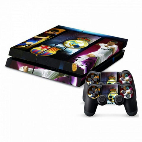 ModFreakz® Console/Controller Vinyl Skin Set - European Football for PS4 Original - Mod Freakz