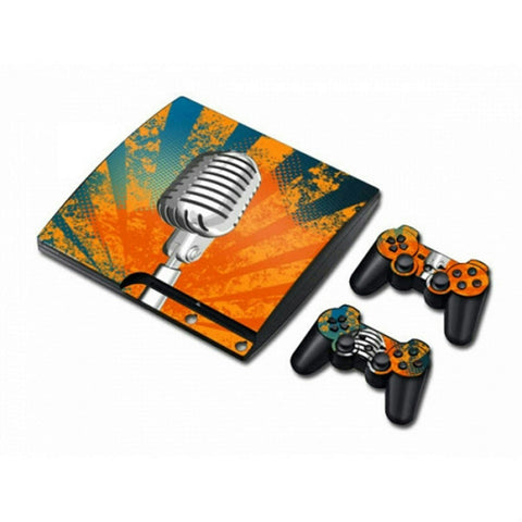 MODFREAKZ™ PS3 Console and Controller Vinyl Skin Set - Microphone Star