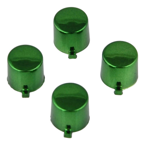 ModFreakz® 4 Button Set Chrome Green Fits All PS4/PS3 Controllers - Mod Freakz