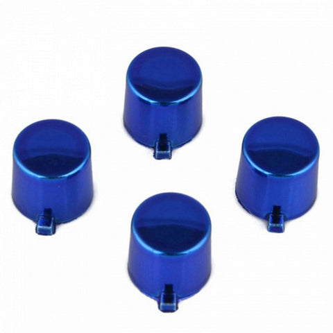 ModFreakz™ 4 Button Set Chrome Blue Fits All PS4/PS3 Controllers