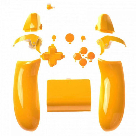 ModFreakz® ABXY Button and Trim Set Polished Yellow For Xbox One Model 1537 Controllers - Mod Freakz