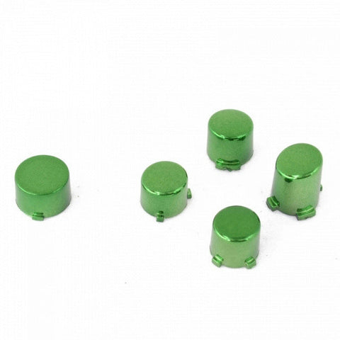 ModFreakz® ABXY Guide Button Set Chrome Green For Xbox One Controller Models 1537/1697 - Mod Freakz