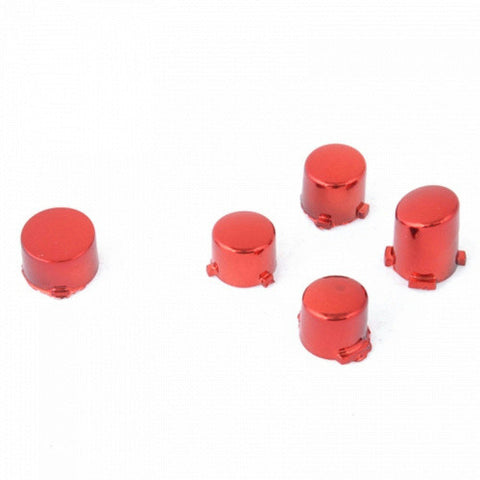 ModFreakz™ ABXY Guide Button Set Chrome Red For Xbox One Controller Models 1537/1697