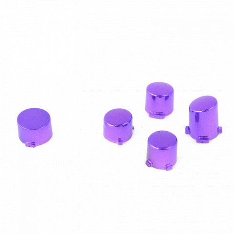 ModFreakz™ ABXY Guide Button Set Chrome Purple For Xbox One Controller Models 1537/1697