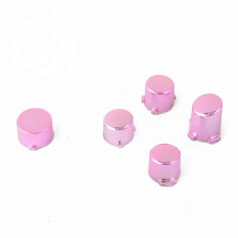 ModFreakz® ABXY Guide Button Set Chrome Pink For Xbox One Controller Models 1537/1697 - Mod Freakz