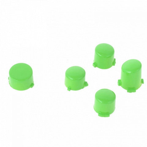 ModFreakz® ABXY Guide Button Set Polished Green For Xbox One Controller Models 1537/1697 - Mod Freakz