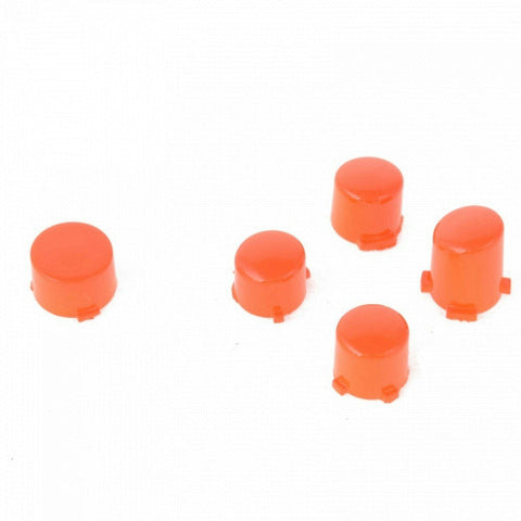ModFreakz® ABXY Guide Button Set Polished Orange For Xbox One Controller Models 1537/1697 - Mod Freakz