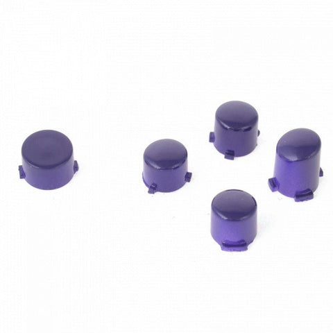 ModFreakz® ABXY Guide Button Set Polished Purple For Xbox One Controller Models 1537/1697 - Mod Freakz