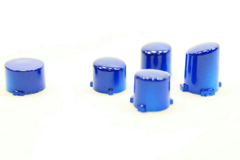 ModFreakz® ABXY Guide Button Set Polished Blue For Xbox One Controller Models 1537/1697 - Mod Freakz