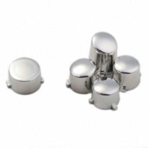 ModFreakz™ ABXY Guide Button Set Chrome Silver For Xbox One Controller Models 1537/1697