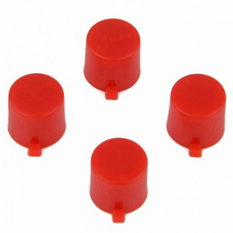 ModFreakz® 4 Button Set Solid Red Fits All PS4/PS3 Controllers - Mod Freakz