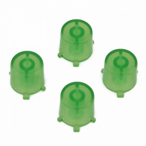 ModFreakz® 4 Button Set Clear Green Fits All PS4/PS3 Controllers - Mod Freakz