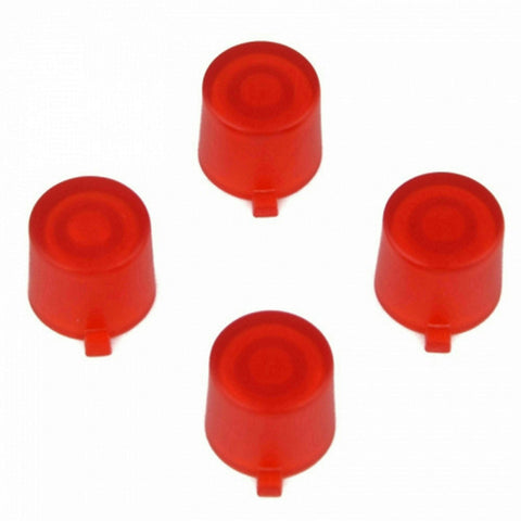 ModFreakz® 4 Button Set Clear Red Fits All PS4/PS3 Controllers - Mod Freakz