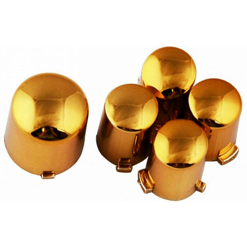 ModFreakz® ABXY/Guide Button Kit Chrome Gold For Xbox 360 Controller - Mod Freakz