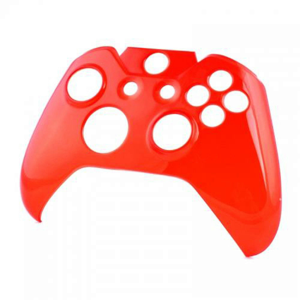 ModFreakz® Snap On Front Cover Transparent Red For Xbox One Model 1537/1697  Controllers
