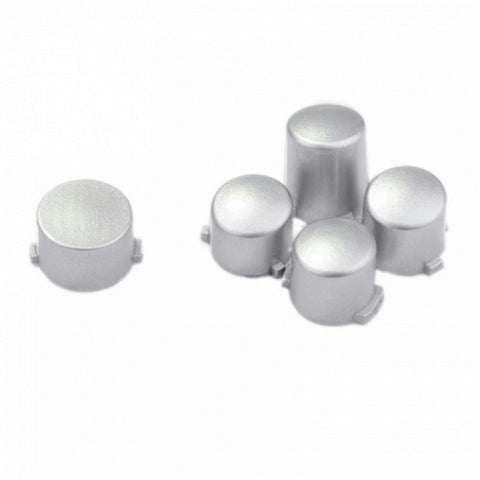 ModFreakz® ABXY Guide Button Set Polished Silver For Xbox One Controller Models 1537/1697 - Mod Freakz