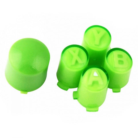 ModFreakz® ABXY/Guide Button Kit Clear Green For Xbox 360 Controller - Mod Freakz