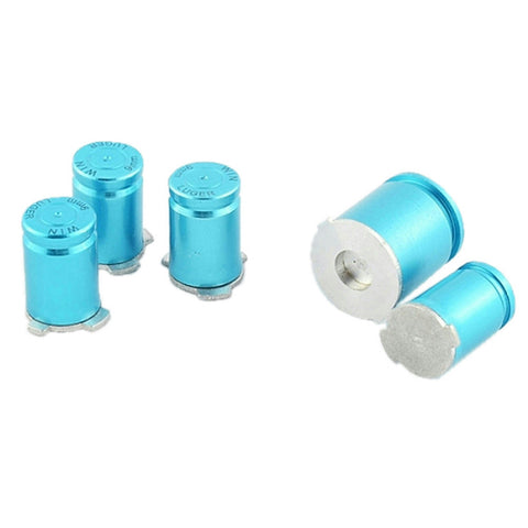 ModFreakz® ABXY/Guide Button Kit 9mm Bullet Blue For Xbox 360 Controller - Mod Freakz