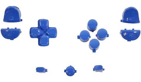 ModFreakz® Button Set Dpad Share Electric Blue For PS4 Gen 1,2 V1 Controller - Mod Freakz