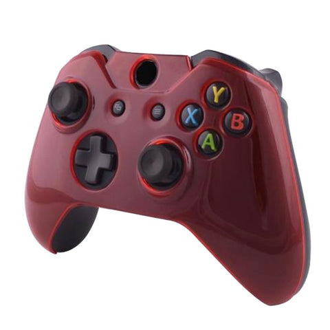 ModFreakz® Snap On Front Cover Transparent Red For Xbox One