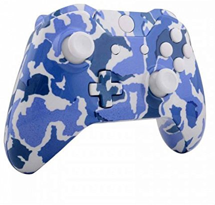 ModFreakz® Shell Kit Hydro Dipped Snow Blue Camo For Xbox One Model 1537  Controllers