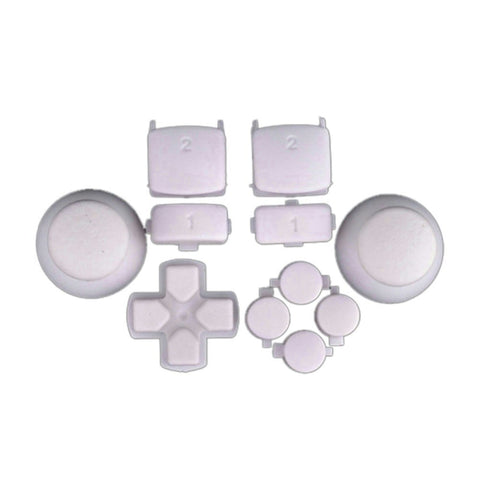 ModFreakz® Complete Button Set Solid White For PS3 Controller - Mod Freakz