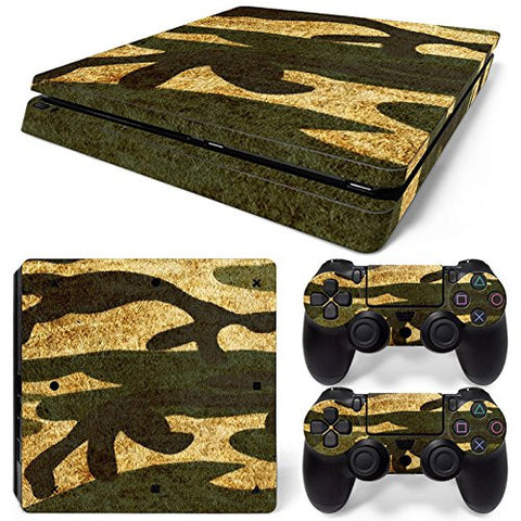 ModFreakz® Console/Controller Vinyl Skin Set - Paint Camo for PS4 Slim
