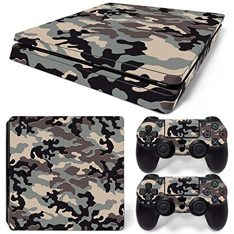 ModFreakz® Console/Controller Vinyl Skin Set - Jungle Camo for PS4 Slim