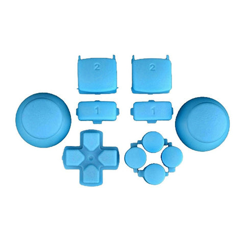 Mod Freakz PS3 Thumbsticks Dpad L1/R1 L2/R2 Triangle Square Circle X Button Set Powder Blue - Mod Freakz