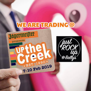 We are trading @ Up the creek 2019